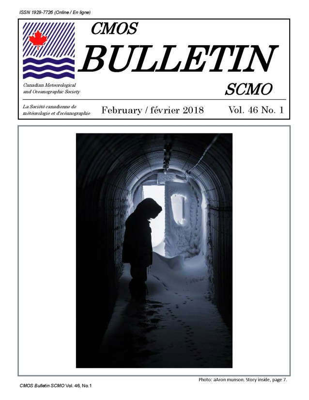 Vol.46 No.1 cover Bulletin SCMO
