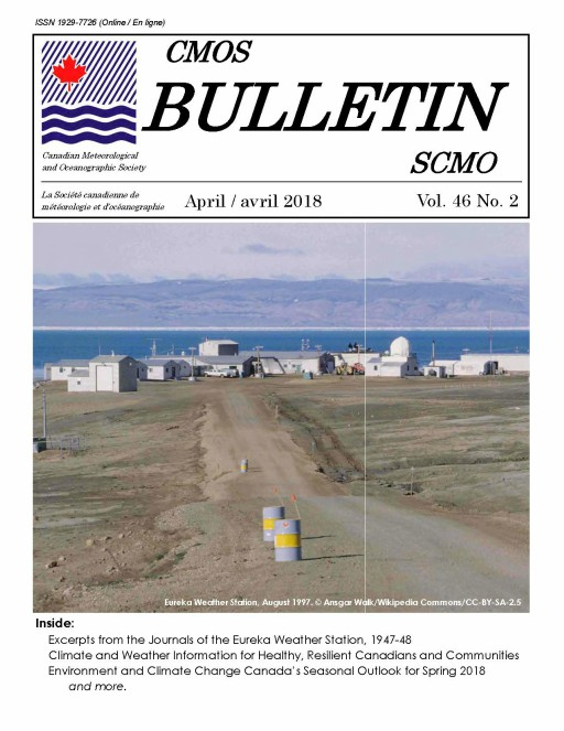 Vol.46 No.2 cover Bulletin SCMO