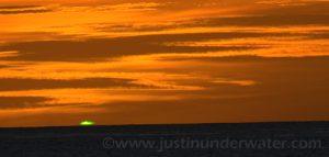 Phénomènes Atmosphériques rayons verts