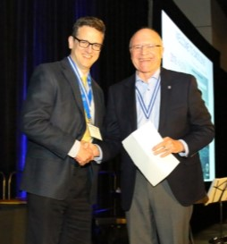 PHoto of Paul Kushner and Wayne Richardson at the 2018 Congress in Halifax, for Paul's article on stewardship