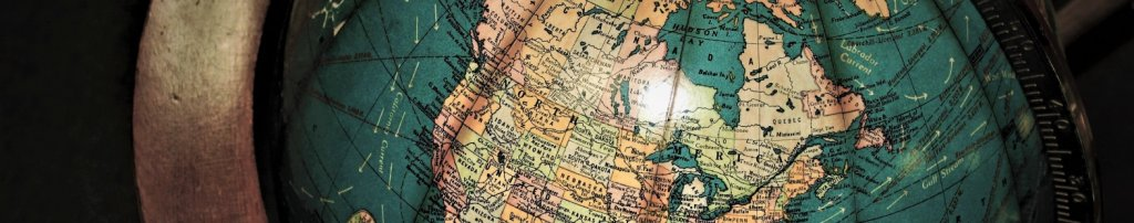 OCDP Banner image shows a partial globe of the world with Canada in focus