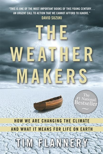 Cover of the Weather Makers by Tim Flannery